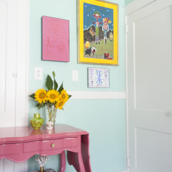 Before & After: A Baker's Dingy Rental Becomes a Joyful Ode to Color