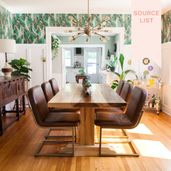 Source List: A Boho Glam Bungalow