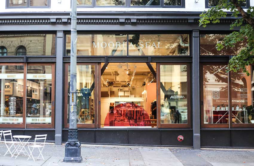 The Seattle Storefront Of Moorea Seal Tour On Design*Sponge