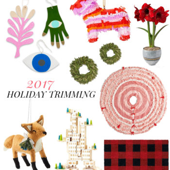 2017 Gift Guide: Trimming + Ornaments