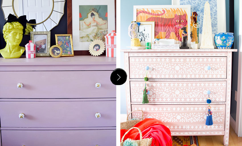 An Ikea Dresser Gets An Updated Look On Design*Sponge