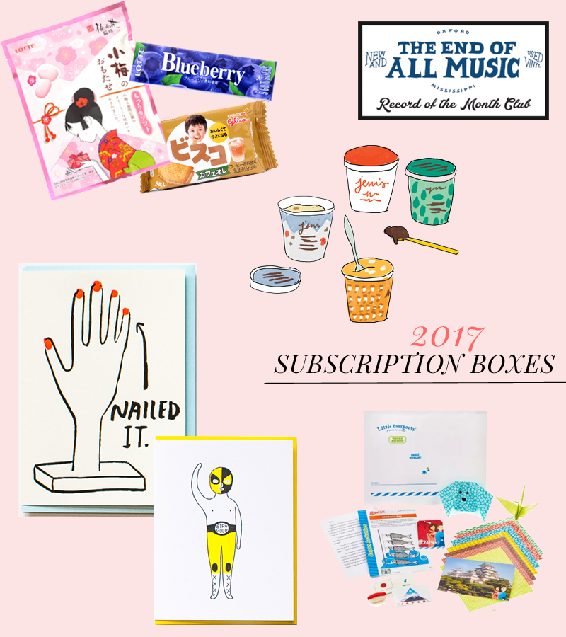 2017 Gift Guide: Subscriptions and Audio Books