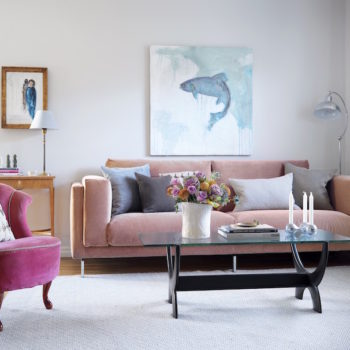 A Swedish Family Home Filled with Art and Old-Time Charm
