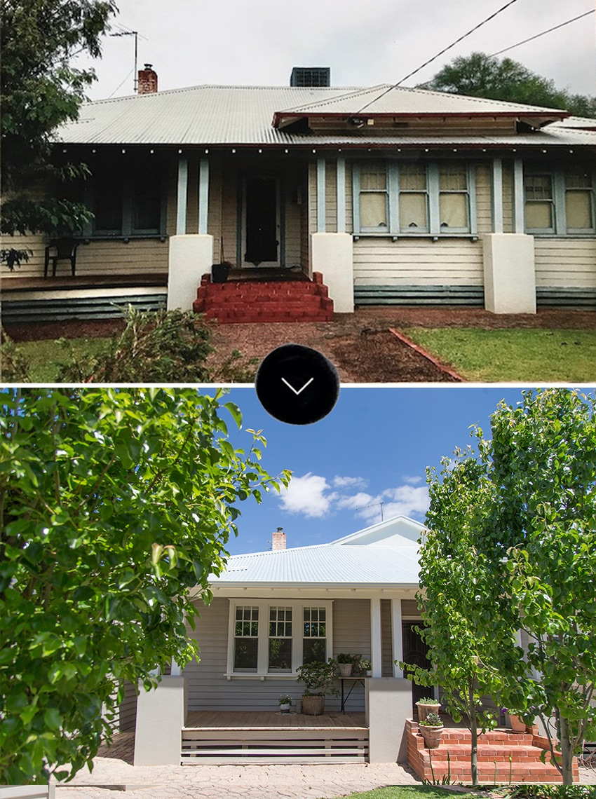 Before & After: An Outdated Australian Weatherboard House Comes to Life