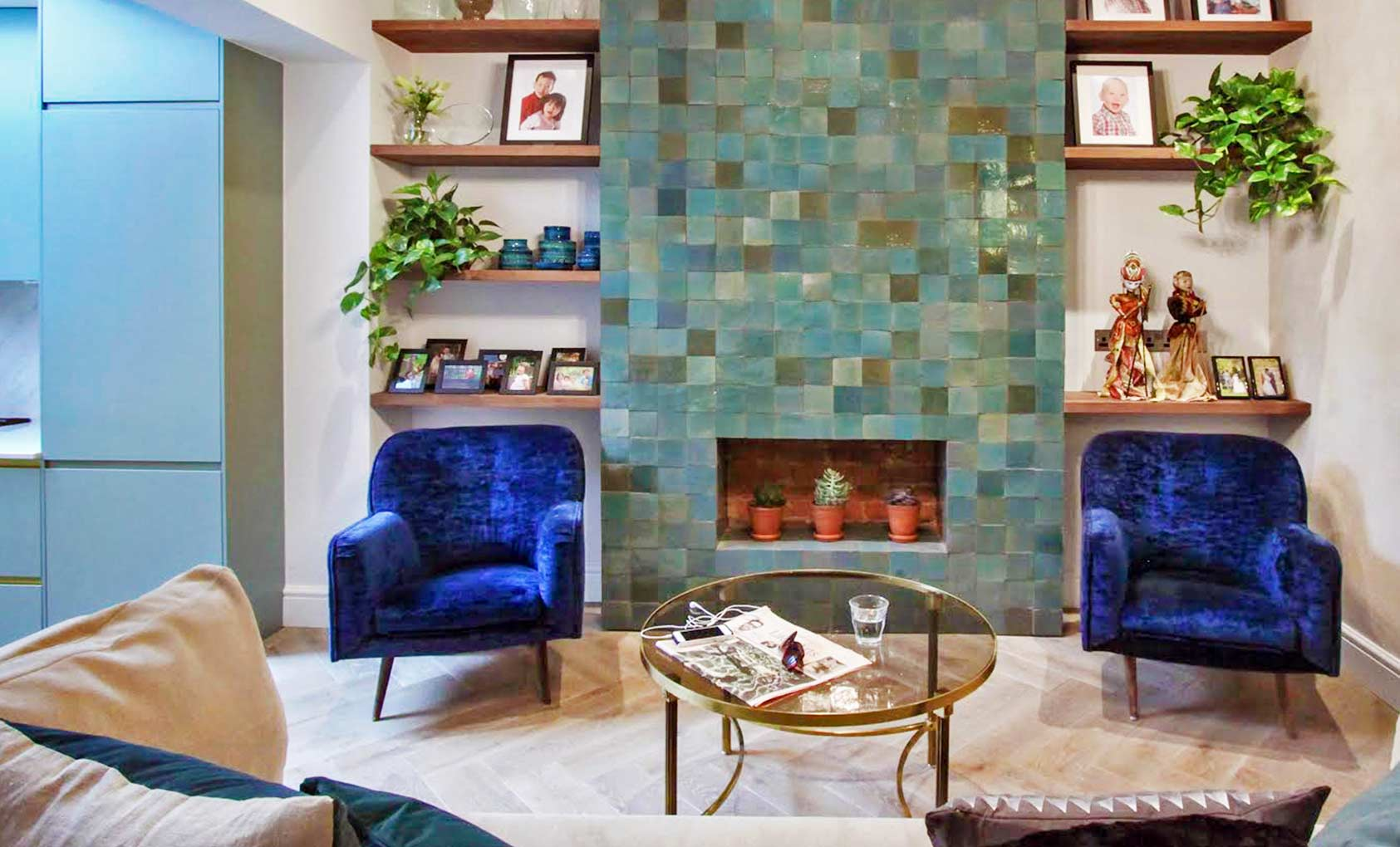 A Speedy Renovation in London Honors Its Owner's Her-story, Design*Sponge