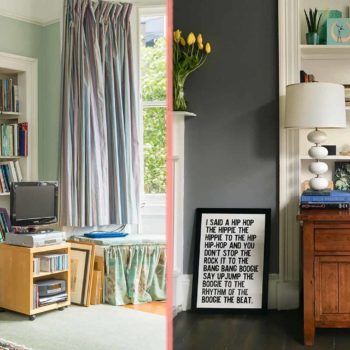 Before & After: A Scottish Victorian's Colorful Makeover