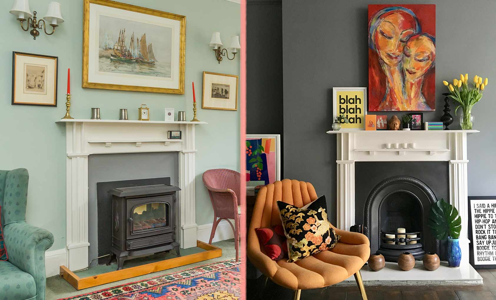 Before & After: A Scottish Victorian's Colorful Makeover, Design*Sponge