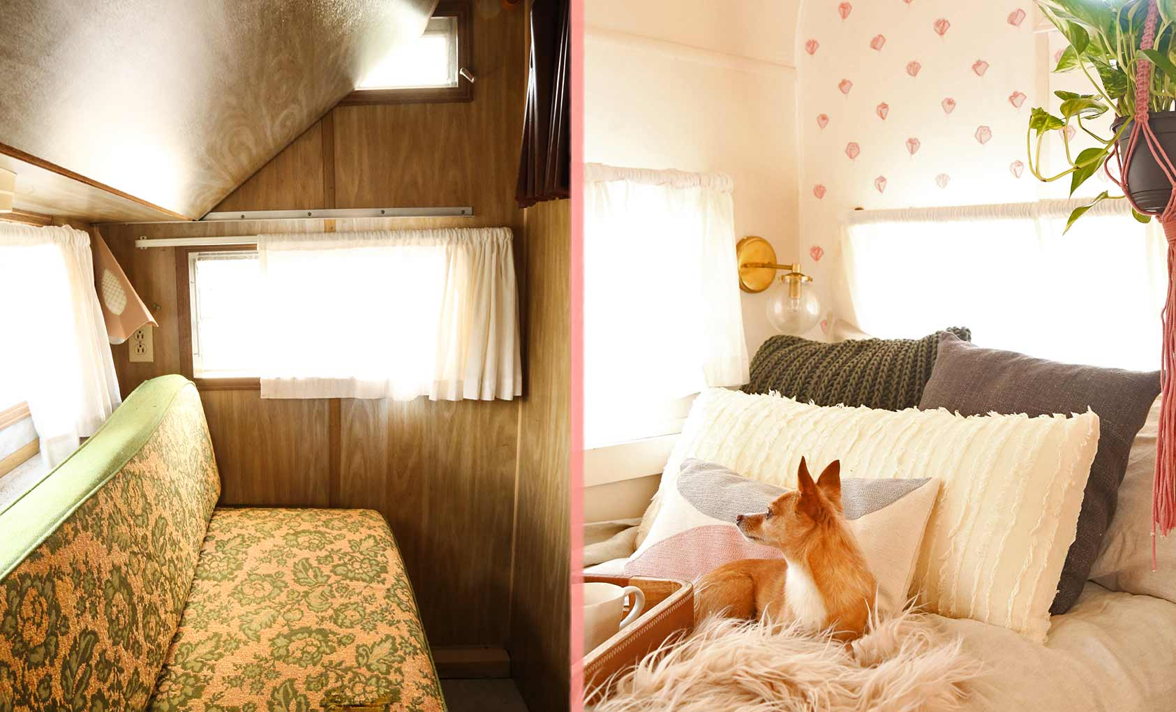 Before & After: A Vintage Camper's Revamp, Design*Sponge