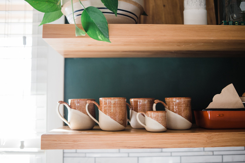 Special Pottery Holds Court In This Tulsa Kitchen On Design*Sponge