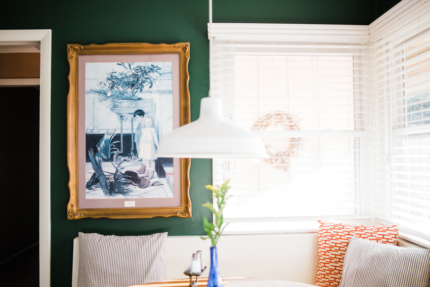Ashley Isn't Shy About Art In The Kitchen And We Love It Kitchen Before And After On Design*Sponge