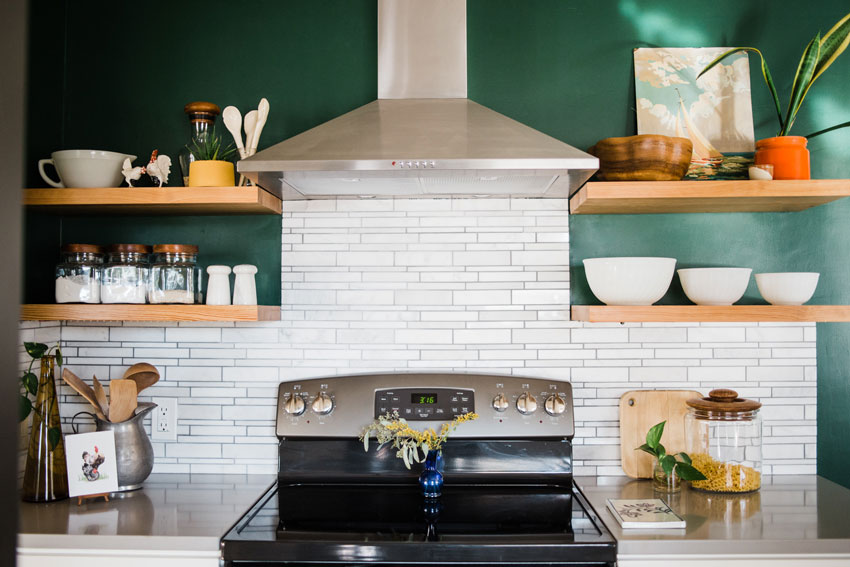 Mid-Century Details Were Incorporated Into This Modern Kitchen Remodel On Design*Sponge