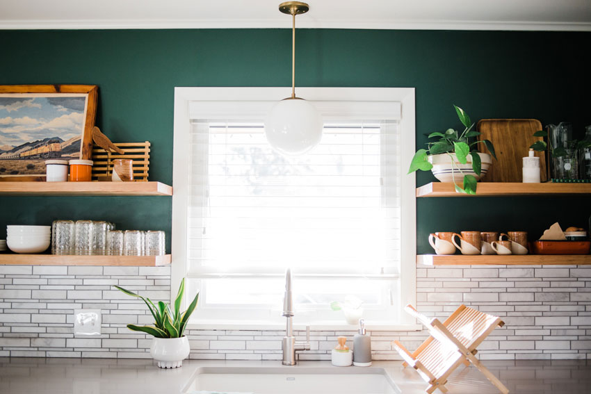 A New Kitchen Window Offers Even More Beautiful Views Of Nature On Design*Sponge