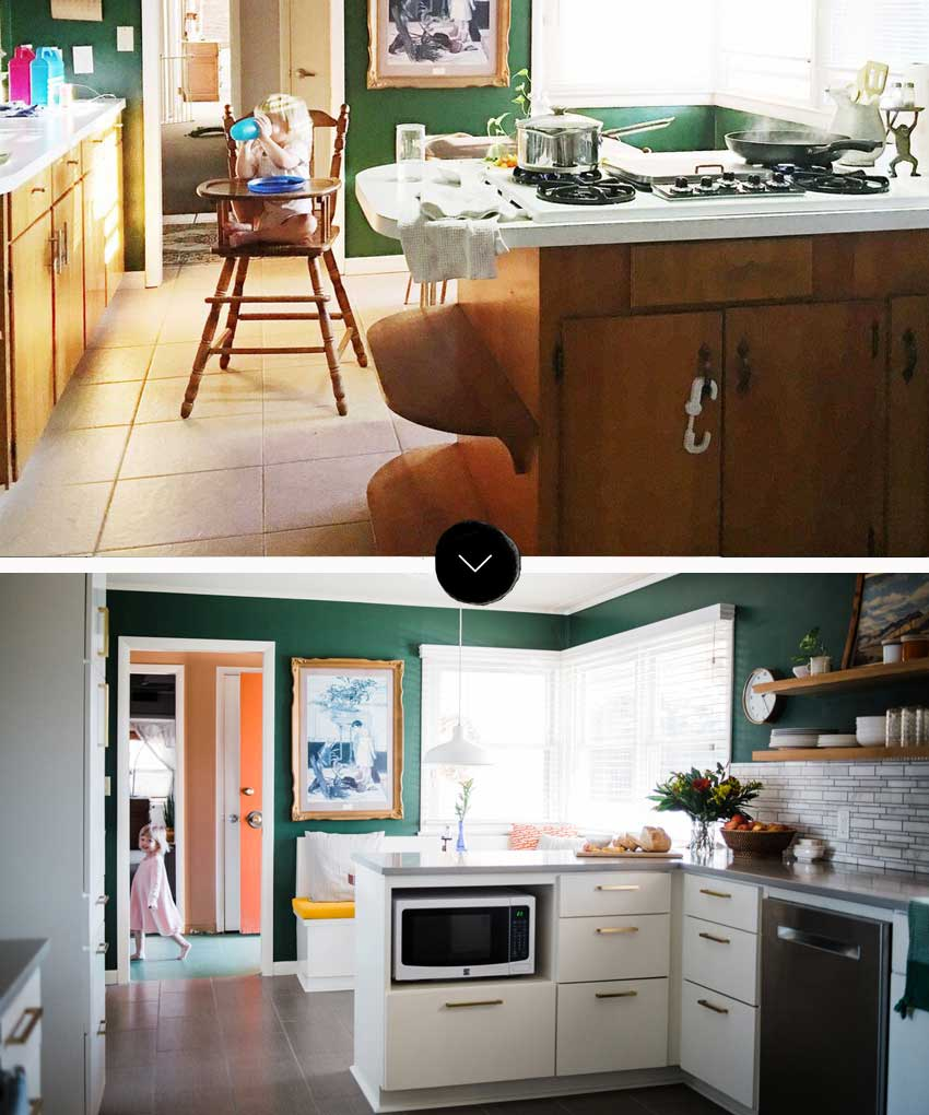 Tulsa Kitchen Before And After On Design*Sponge