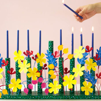 DIY Josef Frank Inspired Menorah by David Stark Design