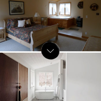 Before & After: A Home in Upstate New York Made To Feel Like A Hotel