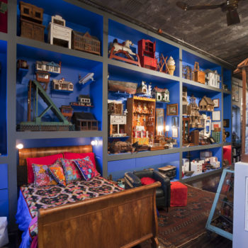 An Industrial Loft for Museum Directors & Avid Collectors