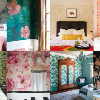 Best of 2017: The Best Painted + Patterned Walls
