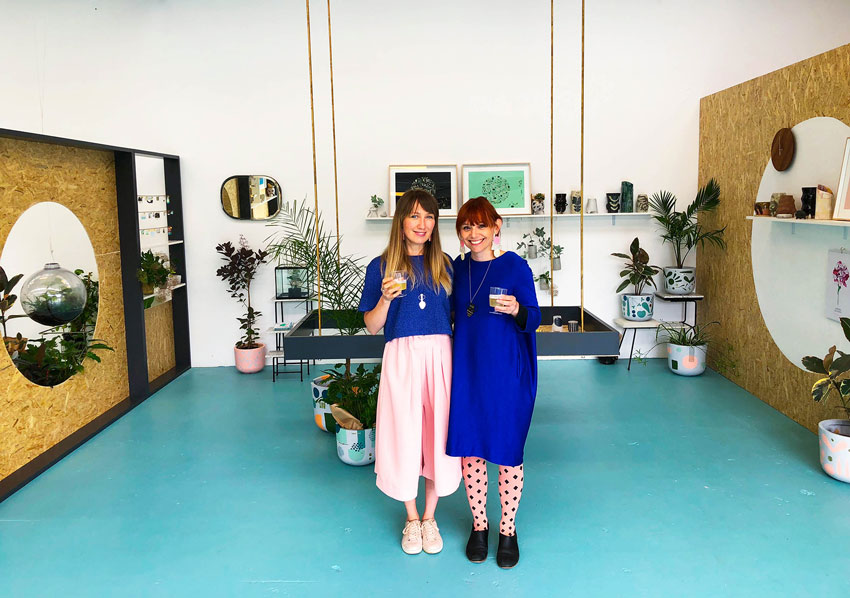 The Peaches+Keen Owners In Their New Brick And Mortar Space Tour On Design*Sponge
