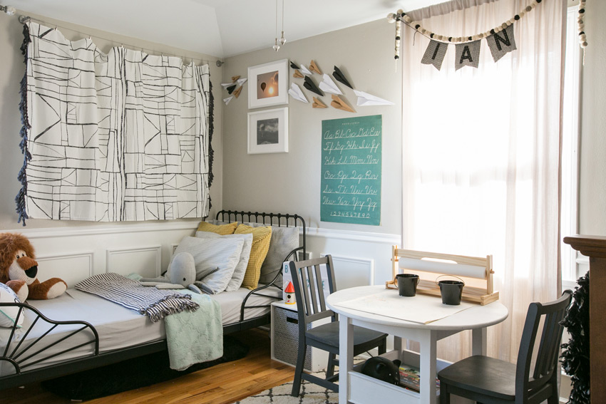 A Charming Shared Kids' Room Tour On Design*Sponge