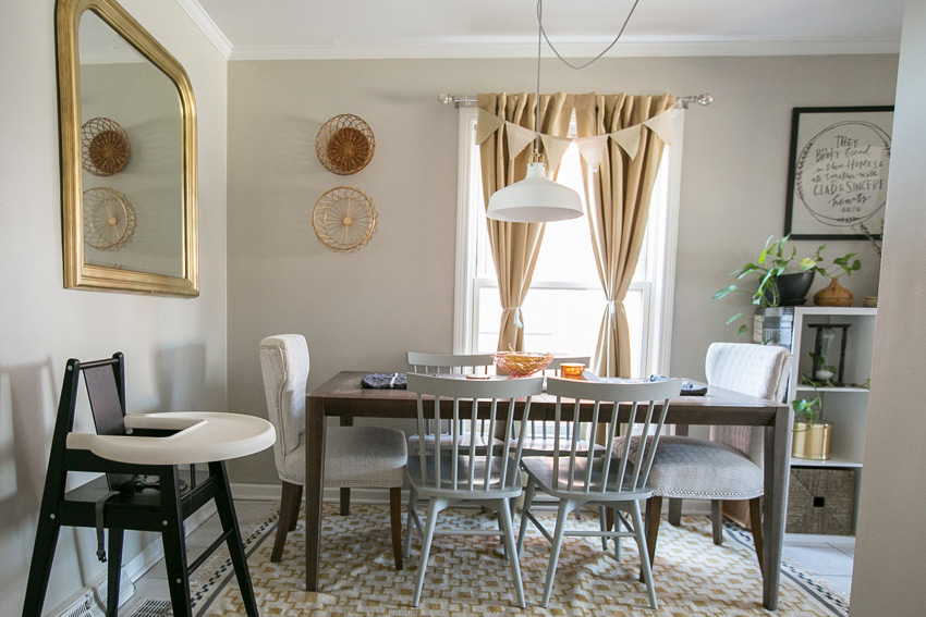 A Small Dining Room That Always Makes Room For Guests Home Tour On Design*Sponge