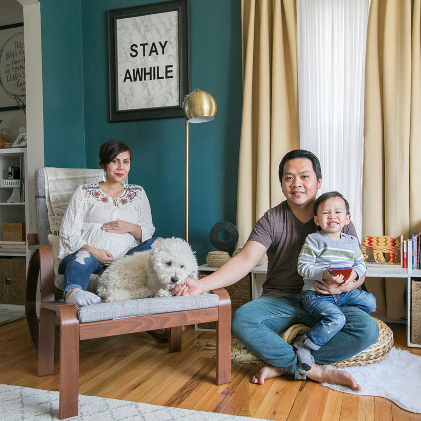 The Raspado Family In Their Chicago Home Tour On Design*Sponge