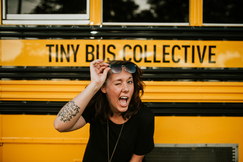 Megan White The Designer And Creator Of The Tiny Bus Collective On Design*Sponge
