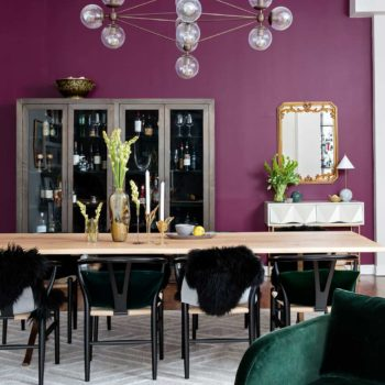 A Plush Chelsea Loft Encrusted in Jewel Tones