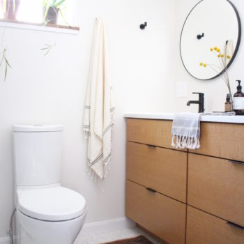 Before & After: A Bathroom Goes from Nondescript to Light-Filled & Modern