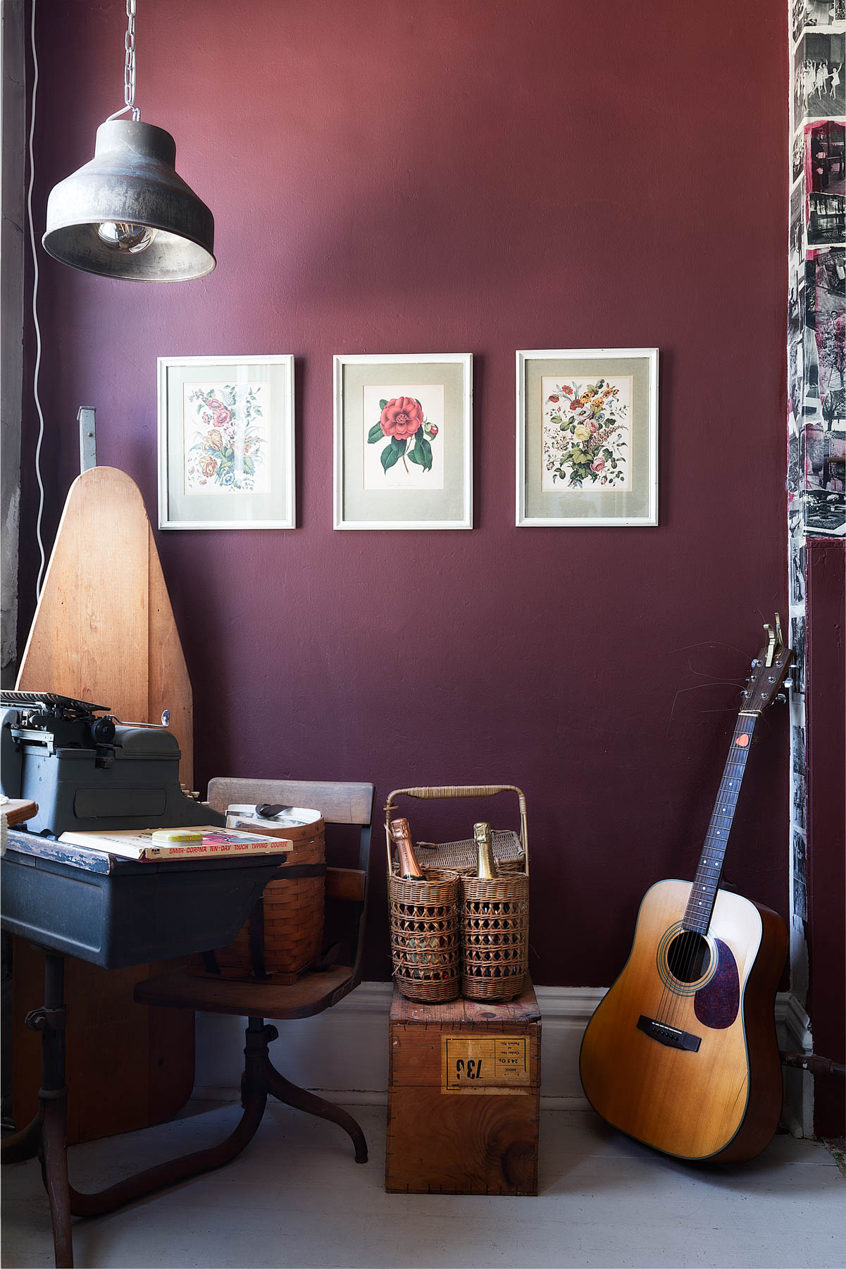 D*S Team Tours: Quelcy's Eclectic Pittsburgh Apartment via Design*Sponge