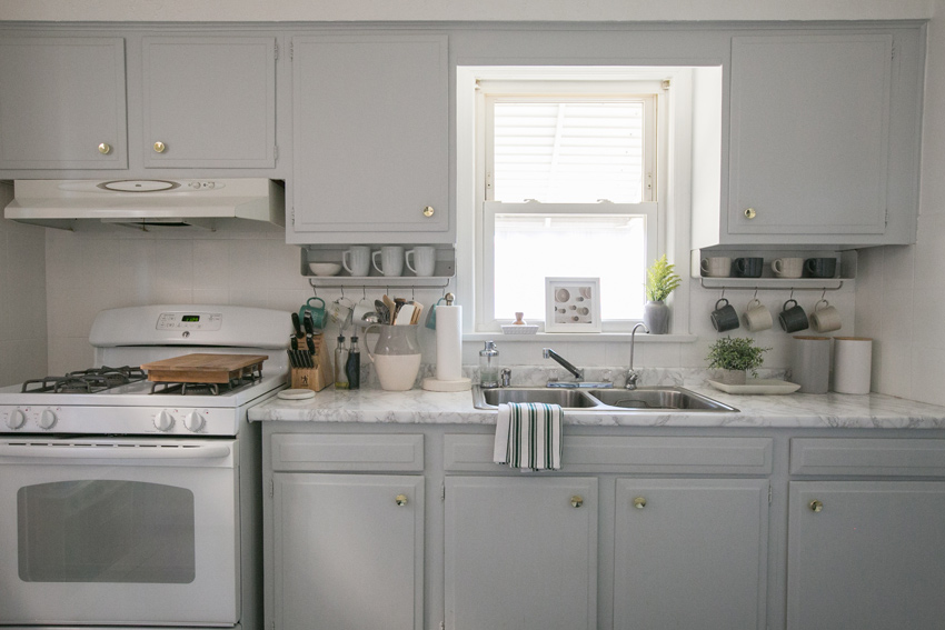 A Kitchen Upgraded On A Budget This Chicago Home Tour Is On Design*Sponge