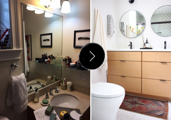 Before and After with Bridget and Ethan Healy on Design*Sponge