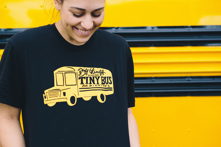 Some Of The Tiny Bus Collective's Design Work Tour On