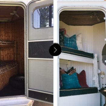 Before & After: A Horse Trailer Becomes A Chic Refuge For Competitions