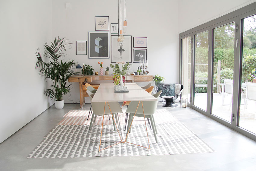 A Light-Filled Dining Room In Sweden On Design*Sponge