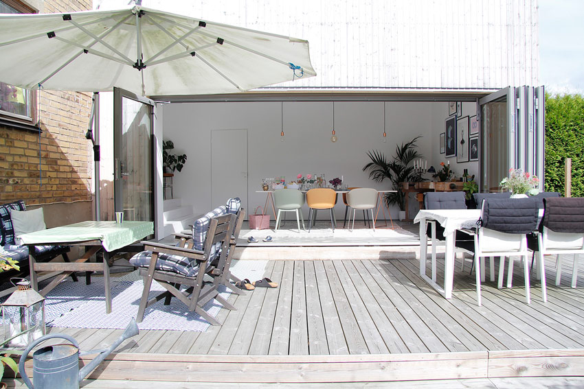 An Open Air Dining Room From The Backyard On Design*Sponge