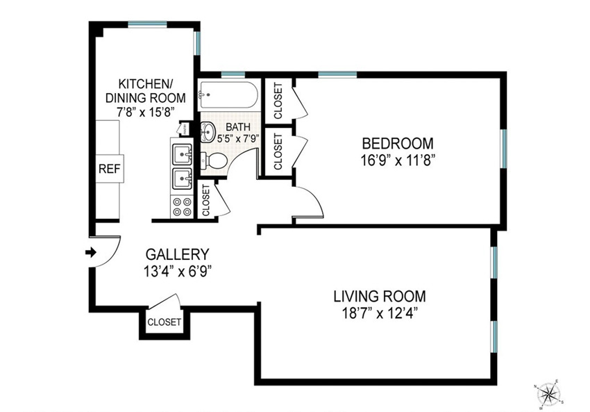 Floor Plan For This Brooklyn Home Tour On Design*Sponge