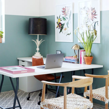 Before & After: Jenny Komenda's Studio Makeover (& tips for personalizing your space!)