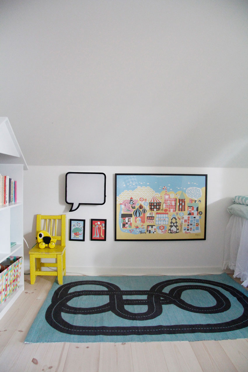 A Sweet Play Area In This Swedish Home Tour On Design*Sponge