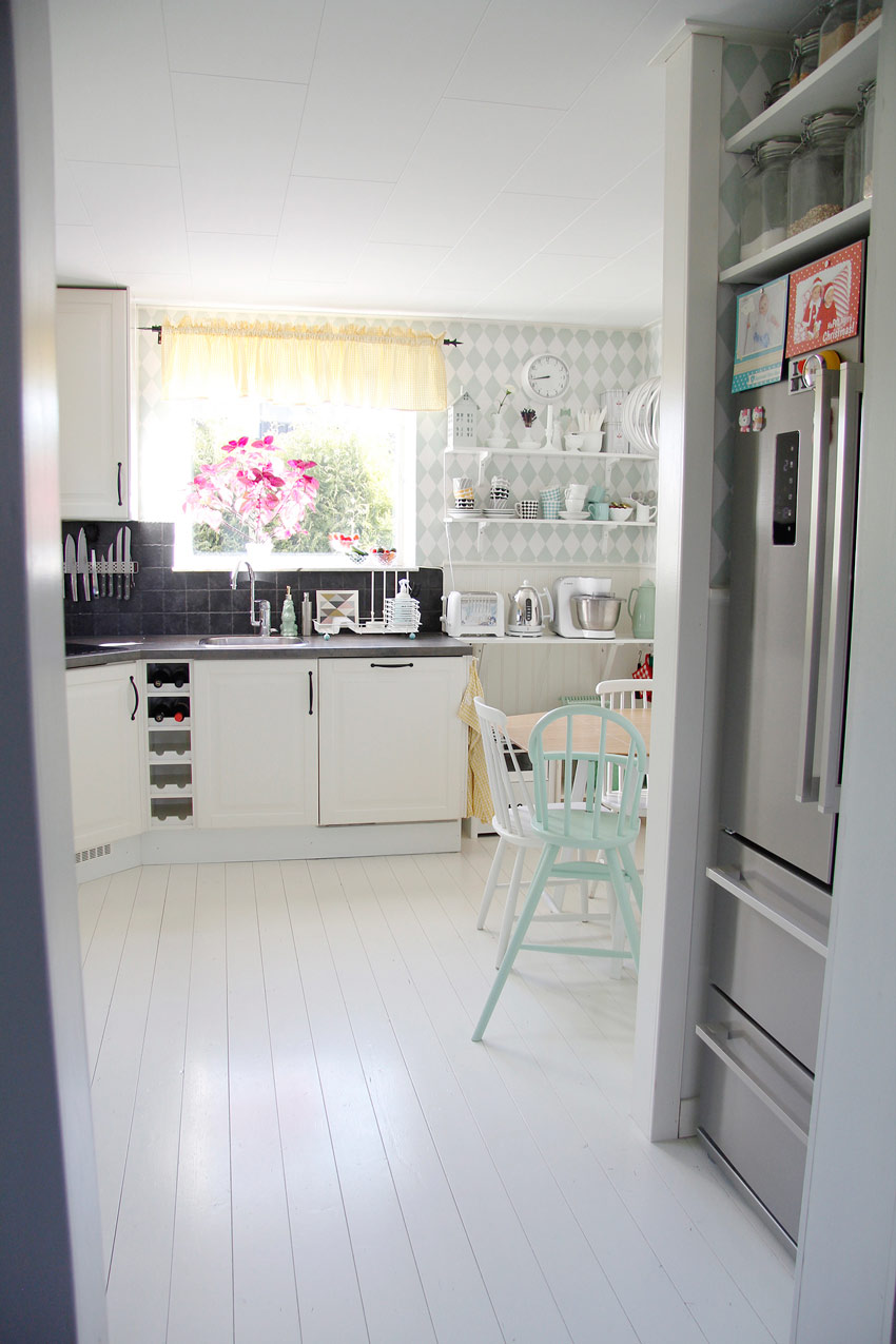 Simple Swedish Kitchen Home Tour On Design*Sponge