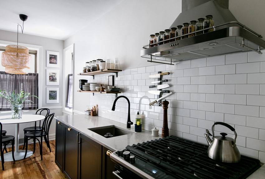 The Lovely Updated Kitchen Of This Brooklyn Apartment On Design*Sponge