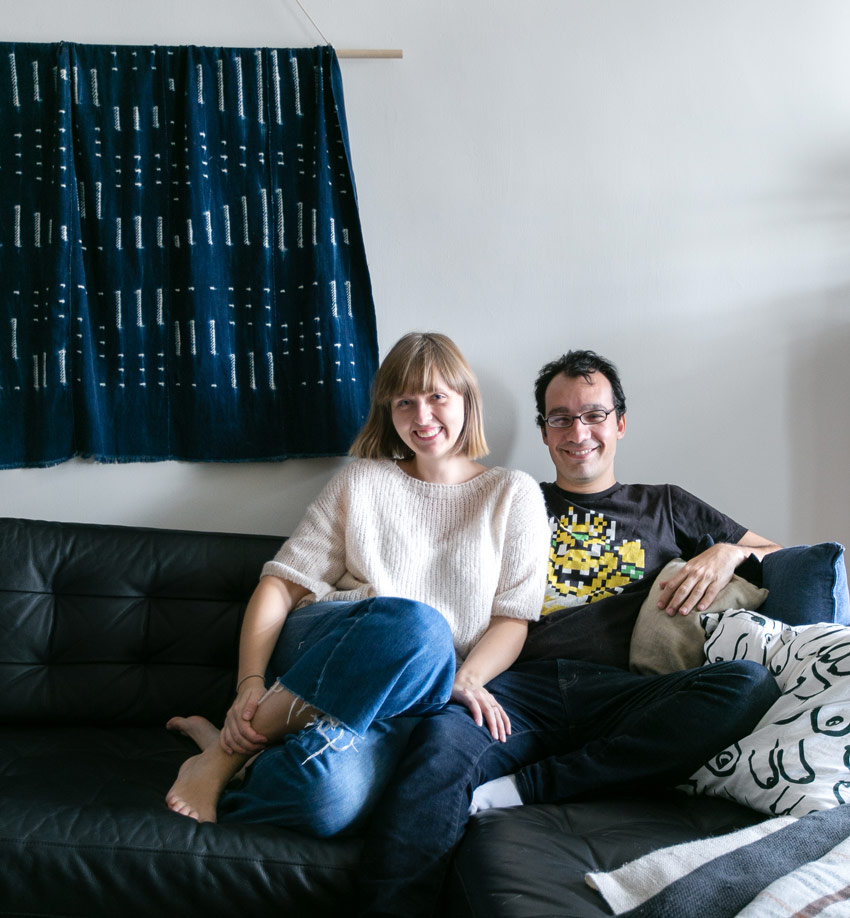 Tiina And Danny In Their Brooklyn Home On Design*Sponge
