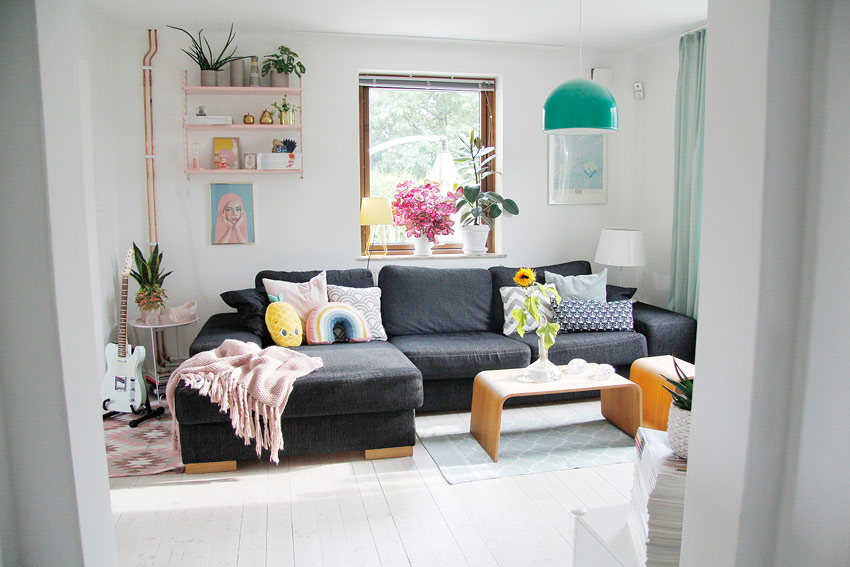 Joy-Filled Decor In This Swedish Living Room On Design*Sponge