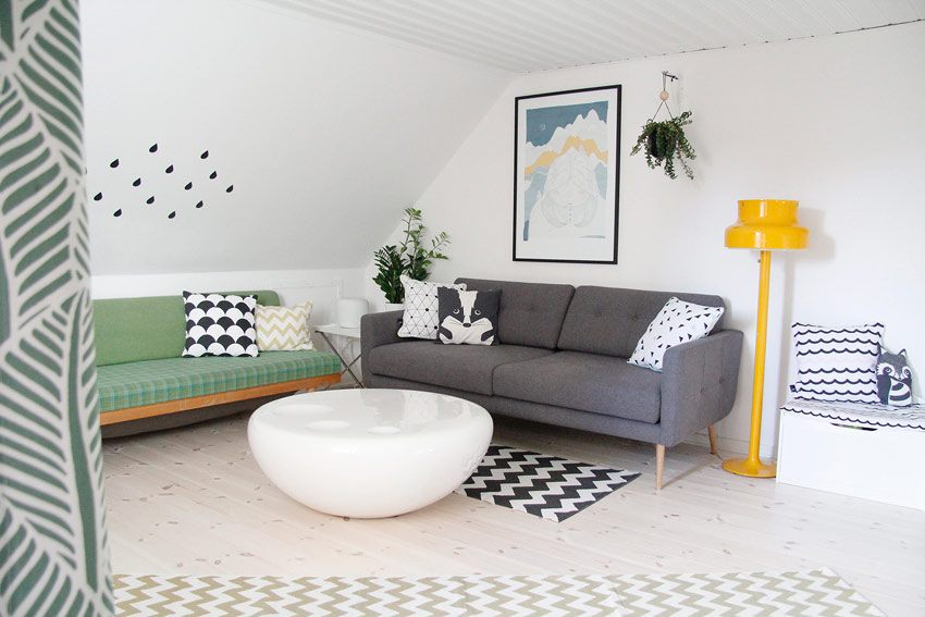 The Children's Play Room And Lounge Area Is Functional And Charming Tour On Design*Sponge