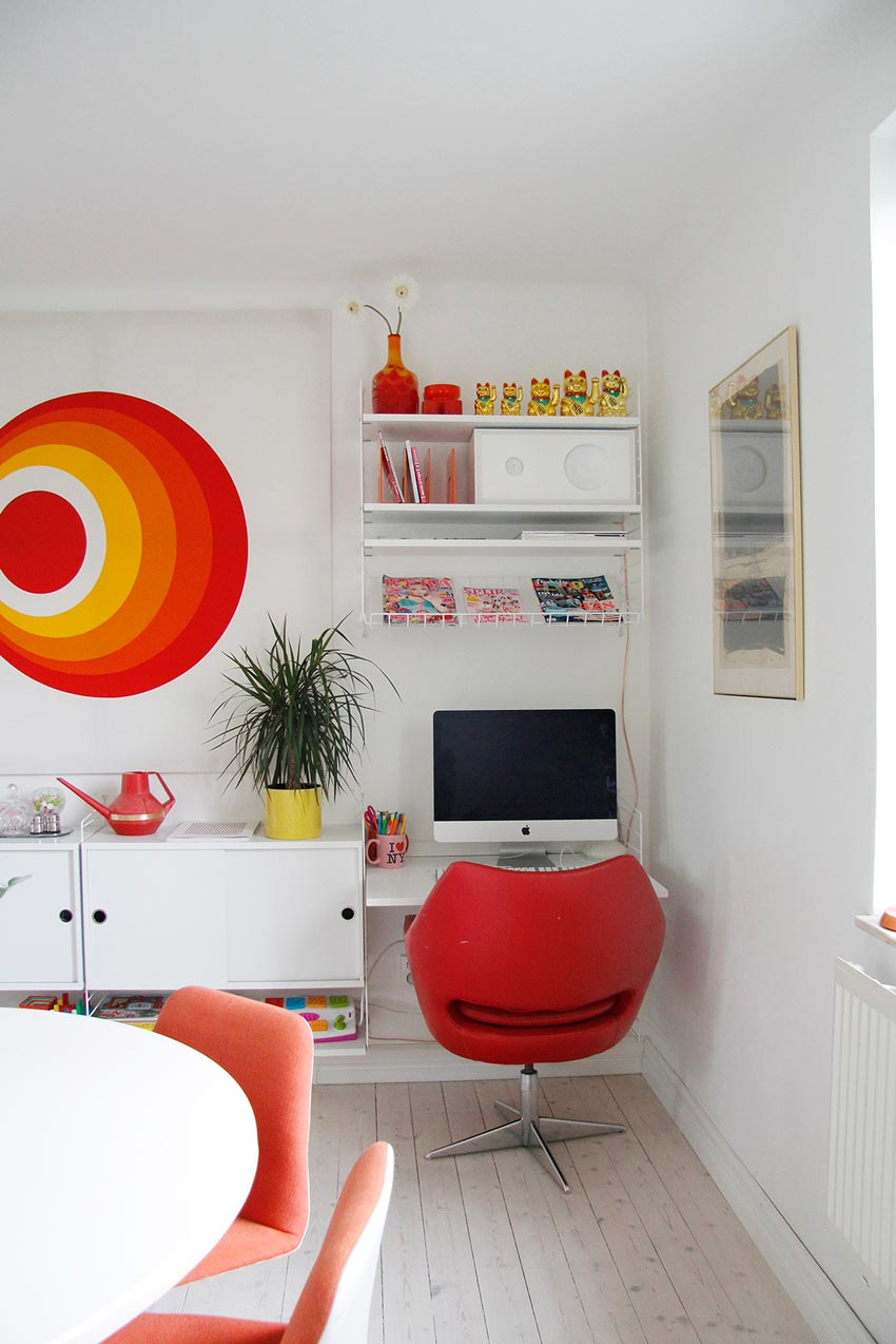 Åsa's Little Corner Office Home Tour On Design*Sponge