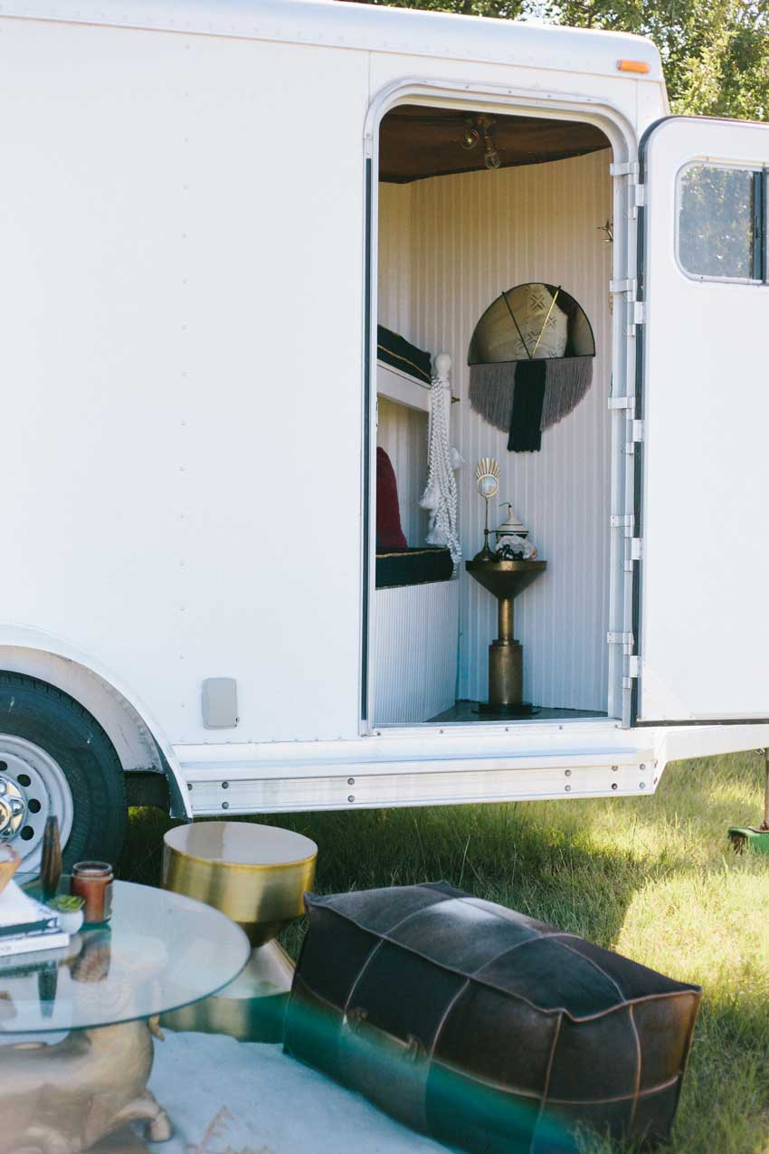 Being The Child Of An Interior Designer Has Its Perks Horse Trailer Before And After On Design*Sponge