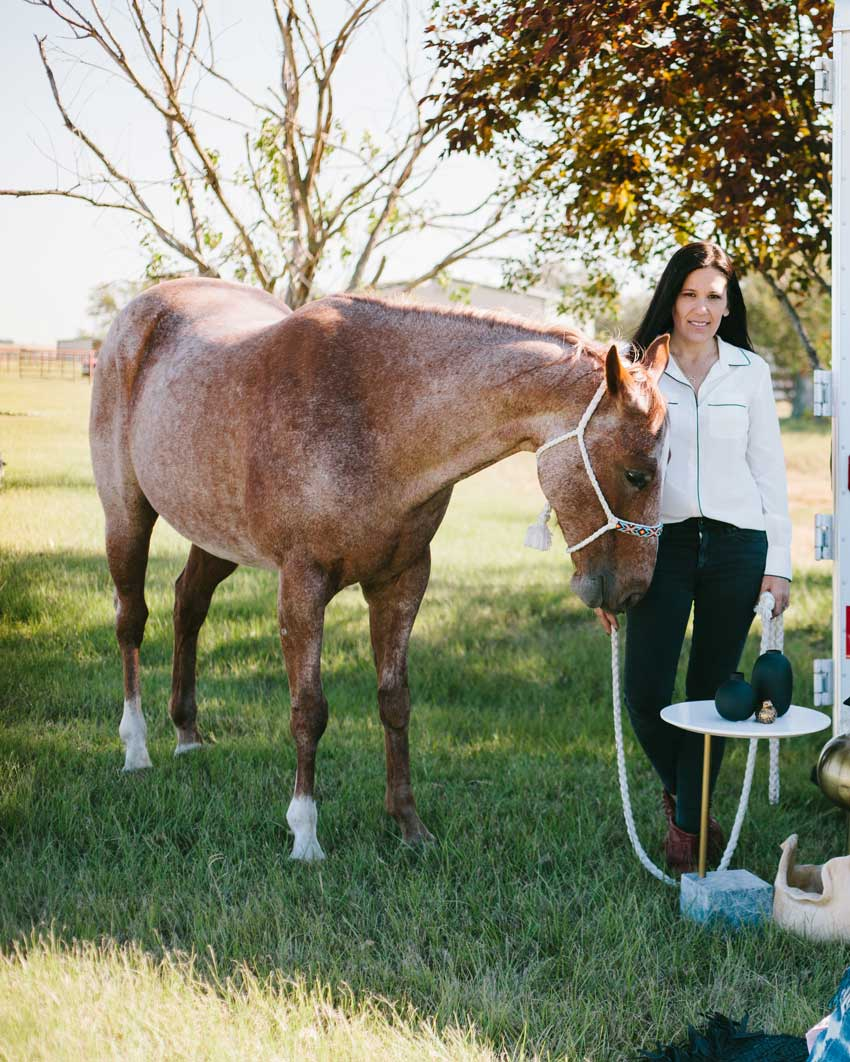 Simone And The Horse That Inspires A Renovation On Design*Sponge
