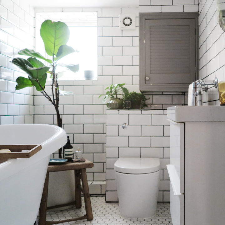 Before & After: An All-Beige Bathroom Becomes a Scandinavian-Inspired Sanctuary
