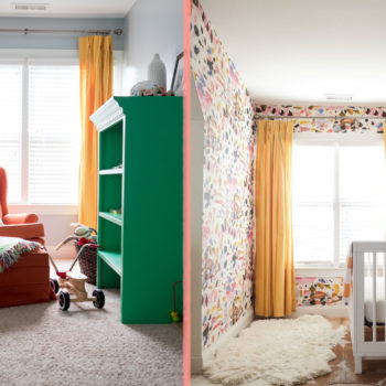Before & After: A Bedroom Dormer Becomes An Extraordinary Nursery