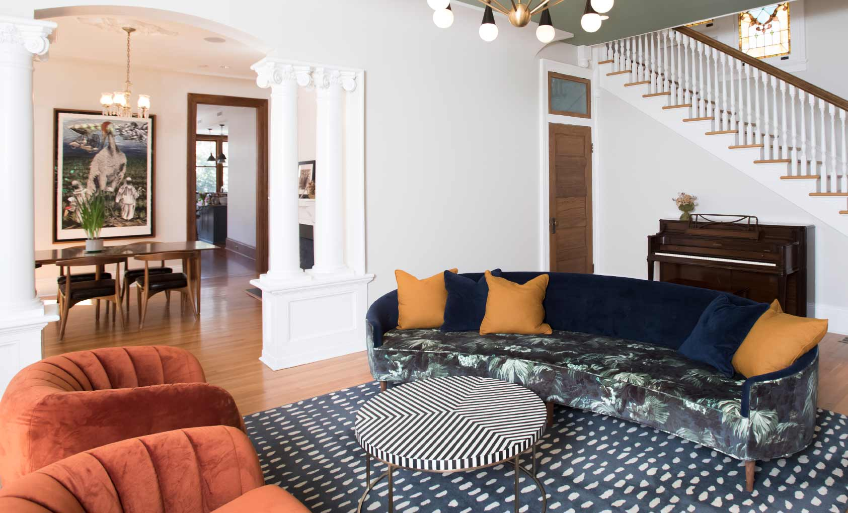 A Neoclassical Home Seamlessly Blends the Old with the New – Design ...