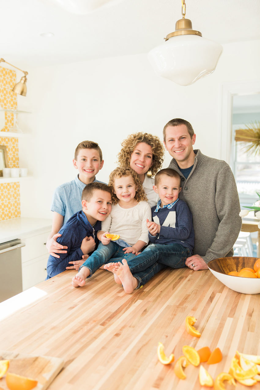 The Family In The Heart Of Their Home The Kitchen Tour On Design*Sponge